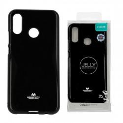 Zadný kryt Mercury Jelly pre Huawei P20 Lite čierny.