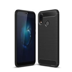 Zadný kryt Carbon pre Huawei P20 Lite čierny.