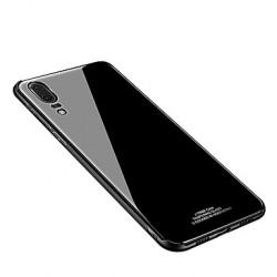 Zadný kryt Glass pre Huawei P20 Lite čierny.