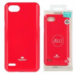Kryt Mercury Jelly pre LG Q6 ružový.