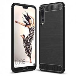 Zadný kryt Carbon pre Huawei P20 čierny.
