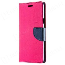 Knižkové puzdro Fancy pre Huawei P20 Pro/Plus ružovo-modré.