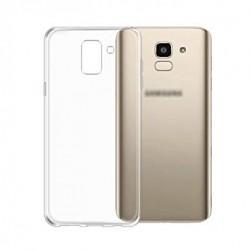 Kryt tenký 0,3mm pre Samsung J600 Galaxy J6 (2018) priehľadný.