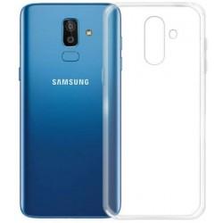 Kryt tenký 0,3mm pre Samsung J800 Galaxy J8 (2018) priehľadný.