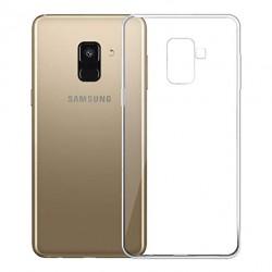 Kryt tenký 0,3mm pre Samsung A600 Galaxy A6 (2018) priehľadný.