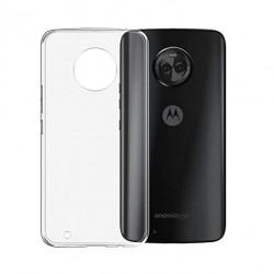 Kryt tenký 0,3mm pre Lenovo Moto G6 Plus priehľadný.