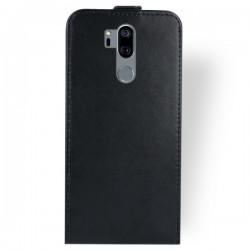 Flipové puzdro Vertical Flexi Slim pre LG G7 čierne.