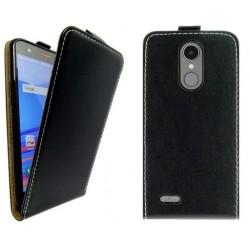 Flipové puzdro Vertical Flexi Slim pre LG K9 (K8 2018) čierne.
