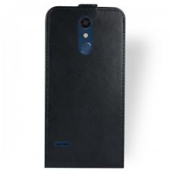 Flipové puzdro Vertical Flexi Slim pre LG K11 (K10 2018) čierne.