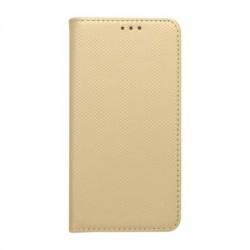 Knižkové puzdro Smart pre Huawei Honor 7X zlaté.
