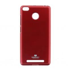 Kryt Jelly Mercury pre Xiaomi Redmi 6 červený.