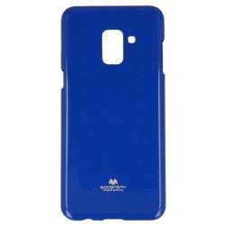 Kryt Mercury Jelly pre Samsung A600 Galaxy A6 2018 modrý.