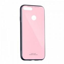 Kryt Glass pre Huawei P Smart ružový.