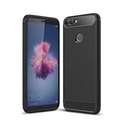 Kryt Carbon pre Huawei P Smart čierny.