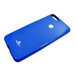 Kryt Mercury jelly pre Huawei Y7 Prime 2018 modrý.