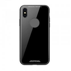 Kryt Glass pre iPhone X čierny.