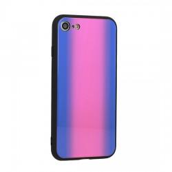 Kryt Vennus Glass Reflect pre iPhone X červeno-modrý.
