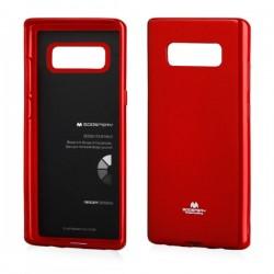 Kryt Mercury Jelly pre Samsung N950 Galaxy Note 8 červený.