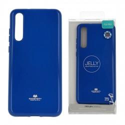 Kryt jelly Mercury pre Huawei P20 Pro/Plus modrý.