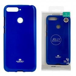 Kryt Jelly Mercury pre Huawei Y6 2018 modrý.