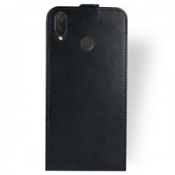 Flipové puzdro Vertical Flexi Slim pre Huawei P Smart Plus čierne.