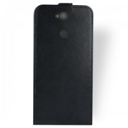 Flipové puzdro Vertical Flexi Slim pre Sony Xperia L2 čierne.