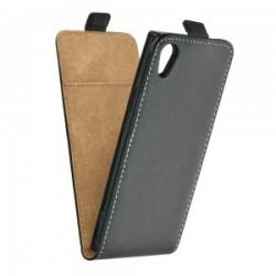Flipové puzdro Vertical Flexi Slim pre Sony Xperia L1 čierne.