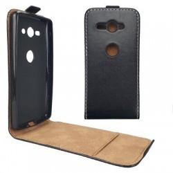 Flipové puzdro Vertical Flexi Slim pre Sony Xperia XZ2 compact čierne .
