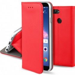 Knižkové puzdro Blackmoon Smart Magnet pre Huawei P Smart červené.
