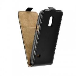 Flipové puzdro pre Samsung G800 Galaxy S5 mini čierne.