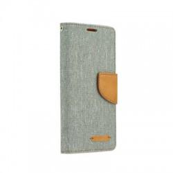 Puzdro Canvas pre Huawei P Smart sivé.