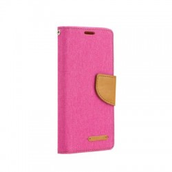 Puzdro Canvas pre Huawei P Smart ružové.