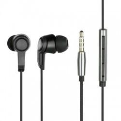 Slúchadlá HF. Samsung/Sony Mega Bass čierne