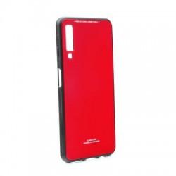 Kryt Glass pre Samsung A750F Galaxy A7 (2018) červené.