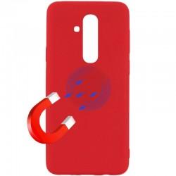 Kryt Soft Magnet pre Huawei Mate 20 Lite červený.