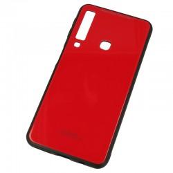 Kryt Glass pre Samsung A920F Galaxy A9 (2018) červený.