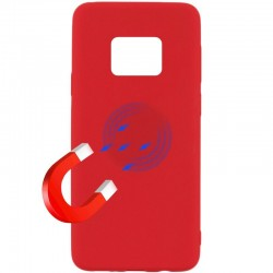 Kryt Soft Magnet pre Huawei Mate 20 Pro červený.