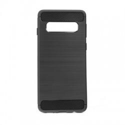 Kryt Carbon pre Samsung Galaxy S10 Plus čierny.