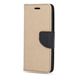 Puzdro Fancy pre pre Huawei P30 zlato-čierne .