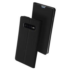 Puzdro Dux Ducis Skin pre Samsung S10 Plus Galaxy G975F čierne.