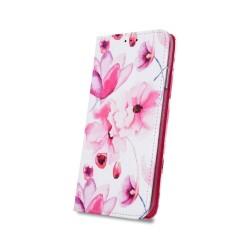 Puzdro Trendy pre Huawei P30 Lite vzor ružové kvety.