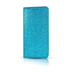 Puzdro Glitter pre LG K9/LG K8 2018 modré.