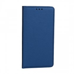 Puzdro SMART Book Magnet pre LG G8 ThinQ modré.