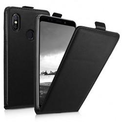 Puzdro Flip pre Xiaomi Mi 8 čierne.