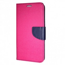 Puzdro Fancy pre Xiaomi Mi 9 ružovo-modré.