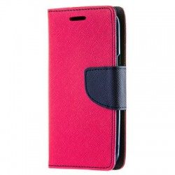 Puzdro Fancy pre Lenovo Moto G7/G7 Plus ružovo-modré.
