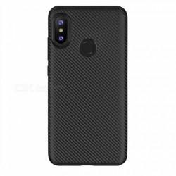 Kryt Carbon Matt pre Huawei Y9 2019 čierny.