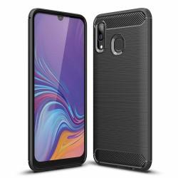 Kryt Carbon pre Samsung A305 Galaxy A30 čierny.