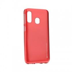 Kryt Mercury i-Jelly pre Samsung A305 Galaxy A30 červený.