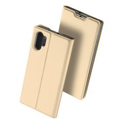 Puzdro Dux Ducis Skin pre Samsung Galaxy Note 10 Plus zlaté.